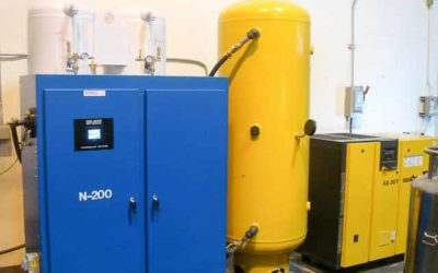Nitrogen Generator for Packaging dairy and cheese